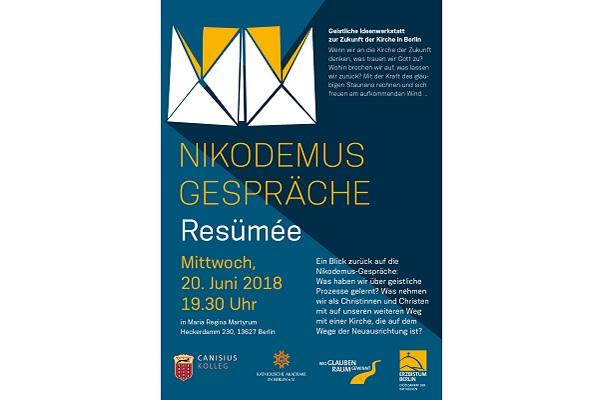 Erzbistum Berlin Resümee Der Nikodemusgesprächespanbrief An
