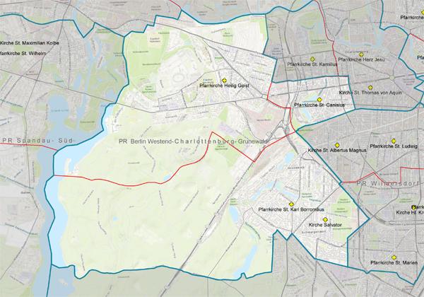Pastoraler Raum Charlottenburg - Westend - Grunewald