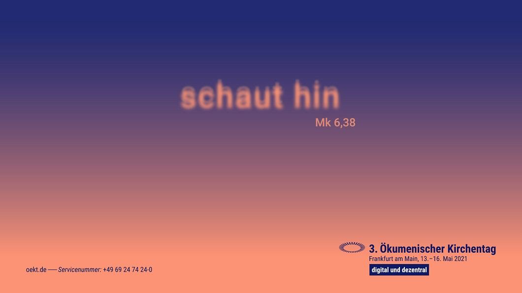 """""""schaut hin (Mk 6,38)"""" – ökumenisch Himmelfahrt feiern"""